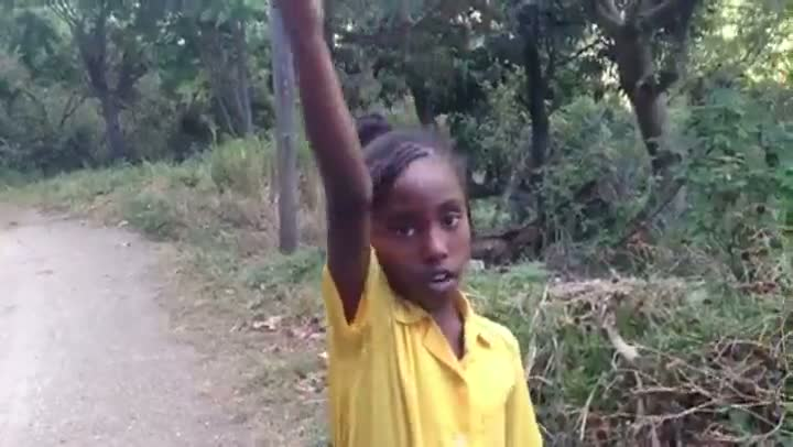 Jamaican Girl Gives Confusing Directions