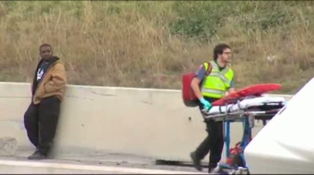 Raw - Fatal Pileup in Central Texas