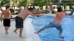 Pool Prank Goes Horribly Wrong