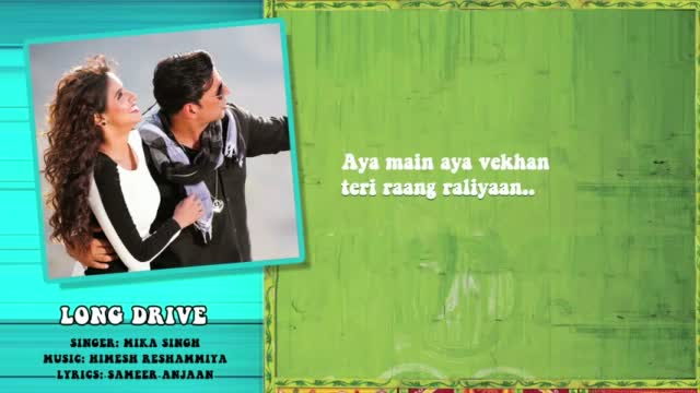 Long Drive - Full Song with Lyrics - Khiladi 786
