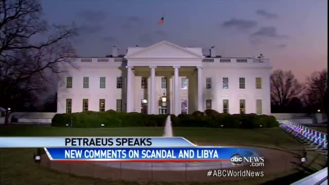 David Petraeus Affair Scandal: Former CIA Chief Testifies in Closed Door Benghazi Libya Hearing