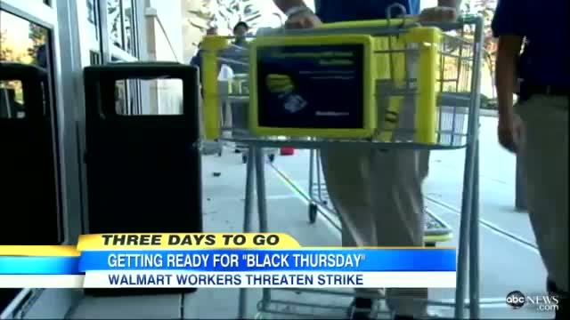 Walmart Black Friday Shopping 2012: Walmart Employees Threaten Strike