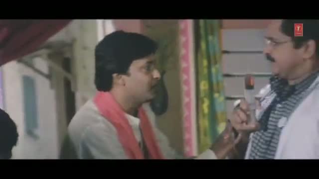 "Comedy Scene from Bhojpuri Movie ""Maai Ke Charana Mein Charon Dhaam"""