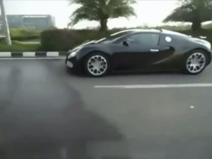 Bugatti Vs. Speedbumps