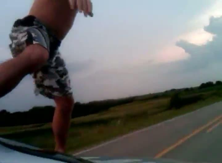 Car Surfing Like a Badass