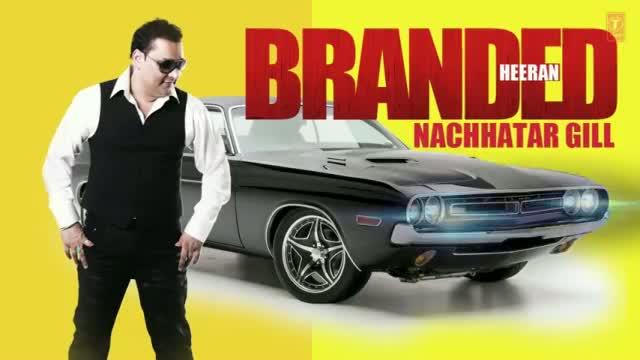 BRANDED HEERAN DIGITAL POSTER | NACHHATAR GILL LATEST ALBUM