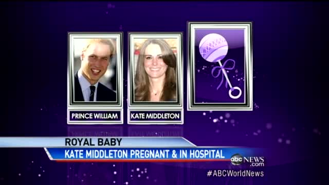 Kate Middleton Pregnant, Rushed to Hospital