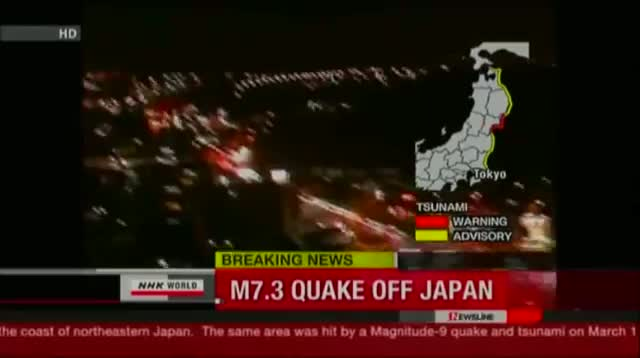Japan Earthquake Sparks Tsunami Scare