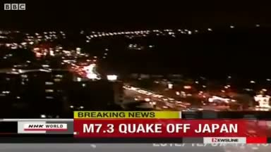 Strong Earthquake - Tsunami Strike Japan