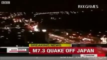 Japan earthquake brings small tsunami to northeastern disaster zone