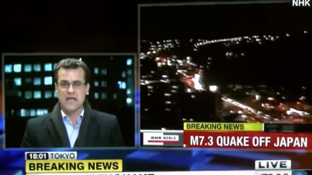 Earthquake - Tsunami Hits Japan