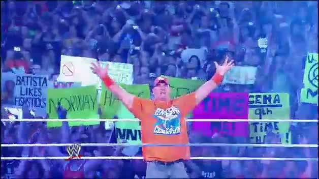 Who is WWE Superstar John Cena?