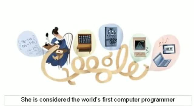 On Ada Lovelace's 197th birthday Google doodles the evolution of computers