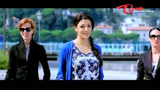 Sarocharu Movie - Kajal Agarwal Song Promo - Ravi Teja, Kajal Agarwal, Richa Gangopadhyay - Telugu Cinema Movies