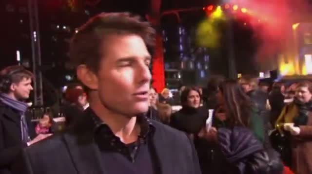 Tom Cruise Attends London Premiere of New Film 'Jack Reacher'