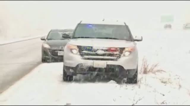 Winter Storm Pounds Upper Midwest