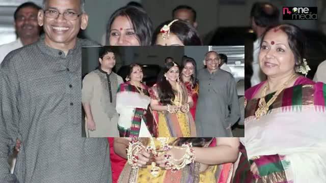 Actress Vidya Balan Mehendi Ceremony