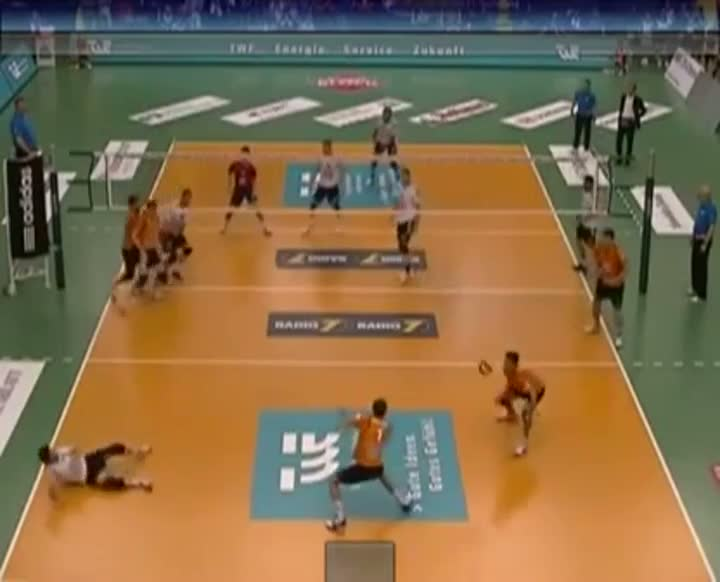 Mens Volleyball Triple Headshot