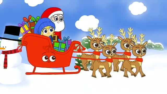 Jingle Bells: Christmas Songs for Children - Jingle Bells Rhymes (Mila and magic pet version)