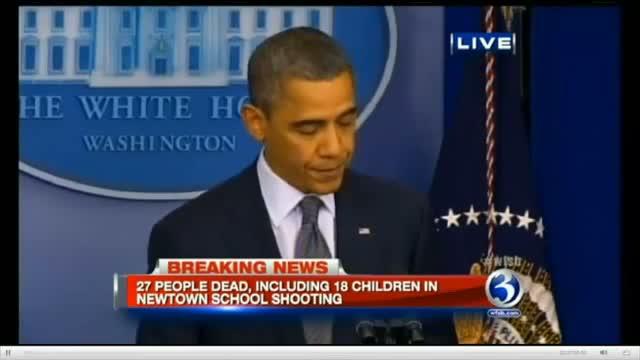 President Barack Obama Speech On Connecticut Schoo    (video id -  311a96977e)
