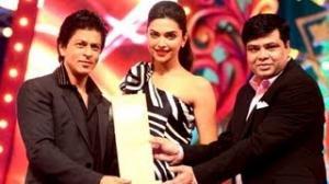 sharukh khan at Big Star Entertainment Awards 2012