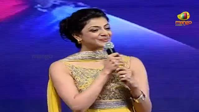 Naayak Audio Launch - Kajal Aggarwal Speech - Ram Charan, Kajal Aggarwal - Telugu Cinema Movies