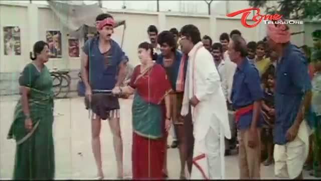 Telugu Comedy Scene From Chinnalludu Movie - Comedy Scene Between Suman & Kota Srinivasa Rao - Telugu Cinema Movies