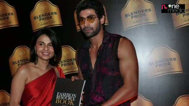Rana Daggubati walks for Asmita Marwah - Blenders Pride Fashion Fashion Tour 2012