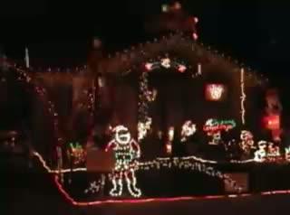 Christmas Lights - Crazy Frog Jingle Bells - Merry Christmas