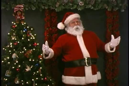 Santa Claus Singing Jingle Bells, His Favorite Christmas Song