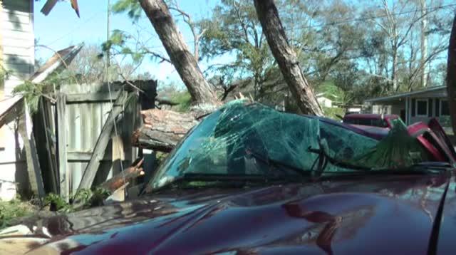 Woman Sleeps Through Tornado Ripping Off Roof