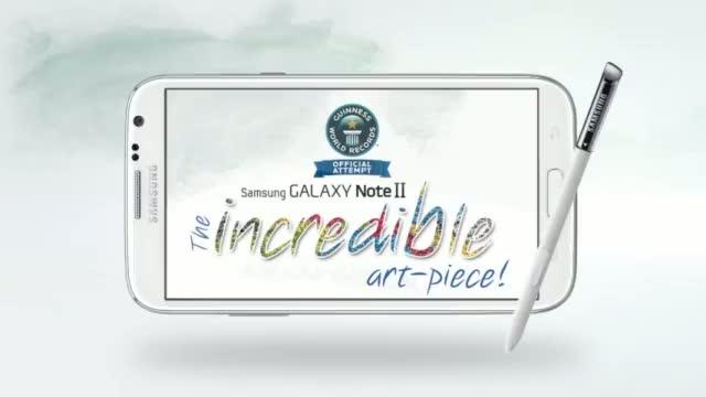 Samsung Galaxy Note II - Incredible Art Piece