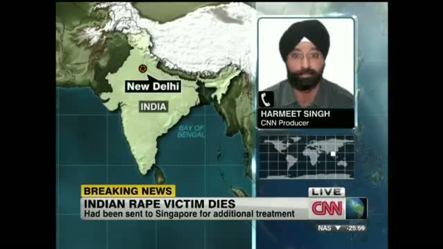 Delhi Gang Rape Victim Dies In Singapore Hospital - Indian Rape Victim Dies In Singapore