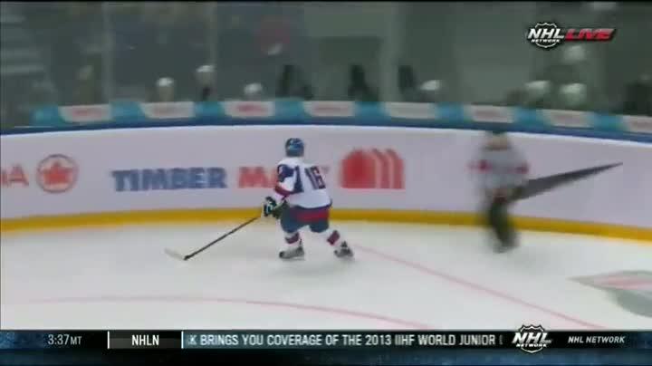 Hockey Player Suffers Devastating Check