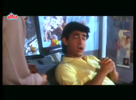 Andaz Apna Apna - Comedy Scene - Juhi Chawla in Aamir Khan's Dream