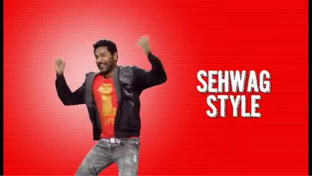 Prabhudeva -Sehwag Style - Dhool Tucker Official Teaser