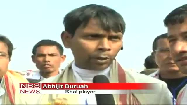 15,000 Khol players in Assam, set record