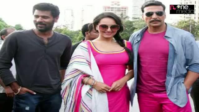 "Akshay starts shooting for the Hindi remake of ""Thuppakki"""