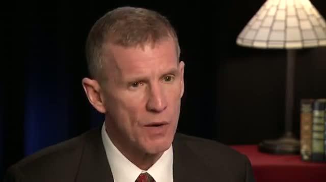 Former US General Stanley McChrystal on Leaving