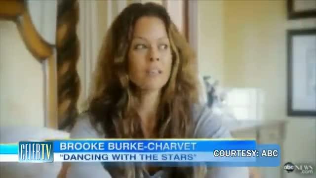 BROOKE-BURKE CHARVET Reveals Cancer Scar