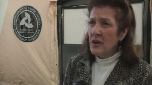 Pa. Hospital Sets Up Tent for Mild Flu Cases