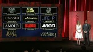 Oscar Nominations 2013 Announcement: 'Lincoln' Leads With 12 Nods