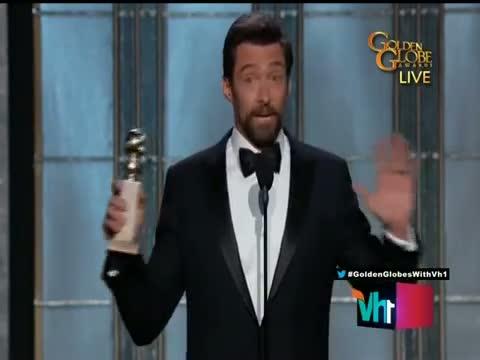Golden Globe 2013: Hugh Jackman wins Best actor Award