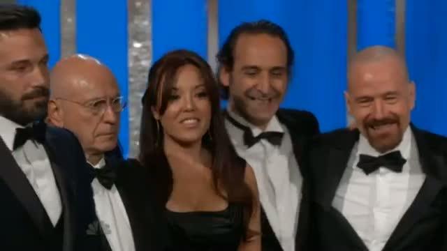 Golden Globes: Argo wins best film, Ben Affleck kisses wife Jennifer Garner