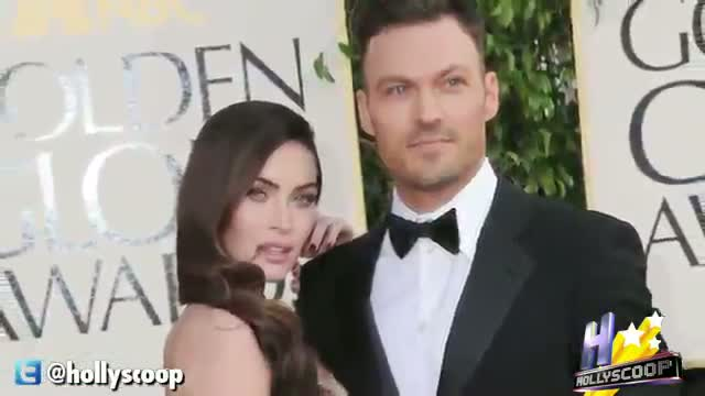 New Mom Megan Fox Rocks Tight Gown At 2013 Golden Globes