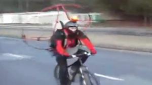 Propeller Propelled Bike