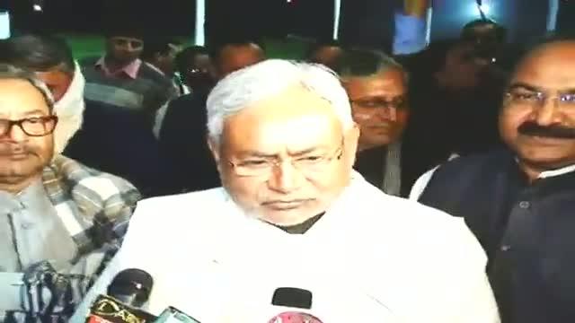 CM Nitish Kumar unveils laser fountain show in Patna