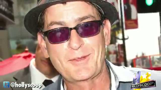 Charlie Sheen Is Going to Be A Grandpa