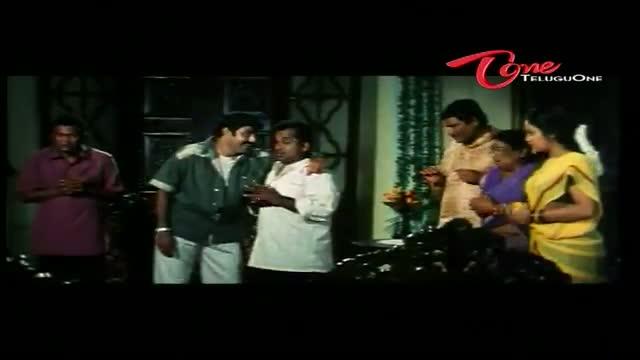 Telugu Comedy Scene from Nandamuri Bala Krishna's Seema Simham - Bedroom Comedy Scene - Bala Krishna, Brahmanandam - Telugu Cinema Movies
