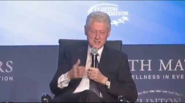 Former Pres. Clinton: Hillary Will Live to 120